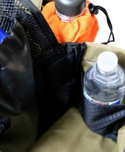 hunting vest with water bottle holder