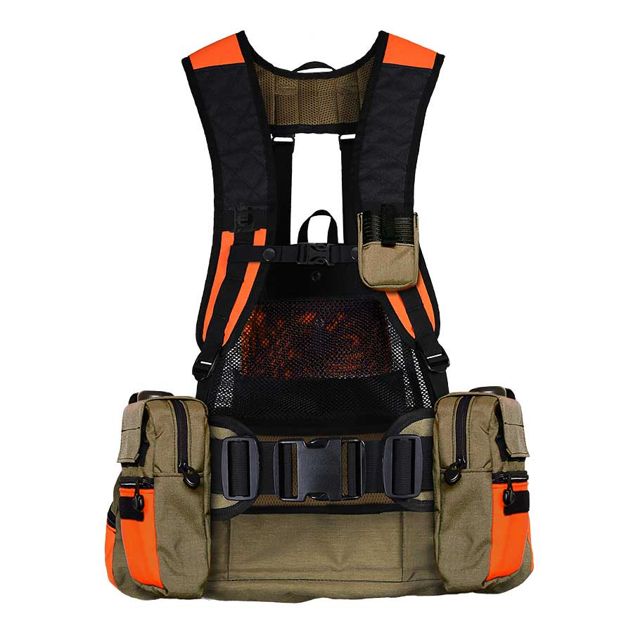 Download Hunting Vest With Game Bag  PNG