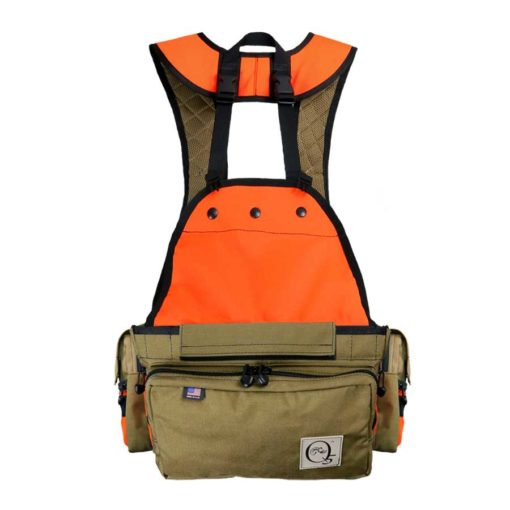Q5 Rimfire Solid Back upland bird hunting vest