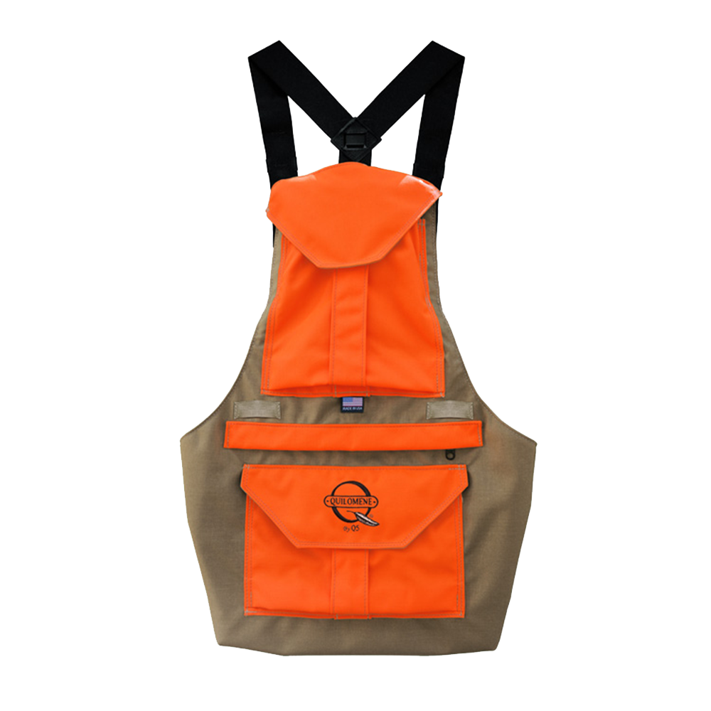 tan or orange bird hunting vest