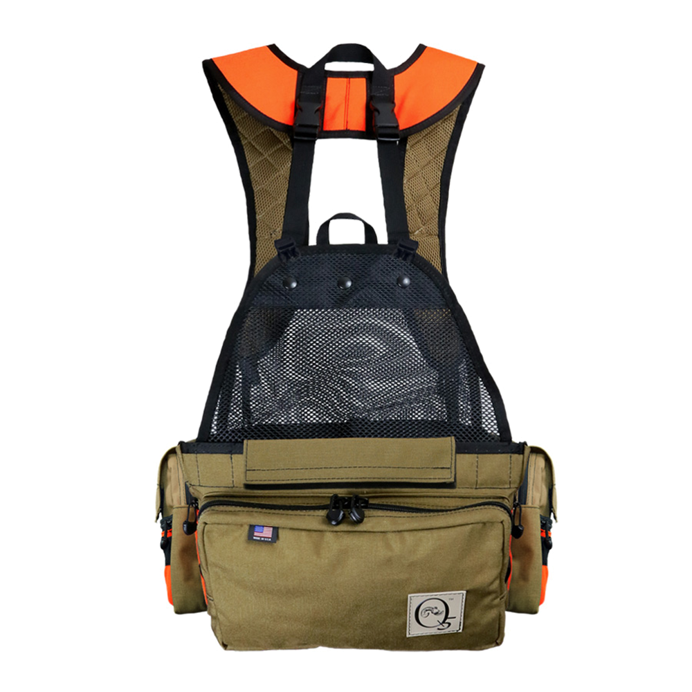 minimalist upland game bird hunting vest