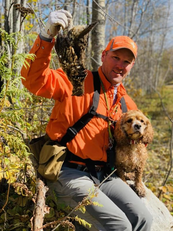 Ruffed Grouse Hunting fritz heller grouse commander